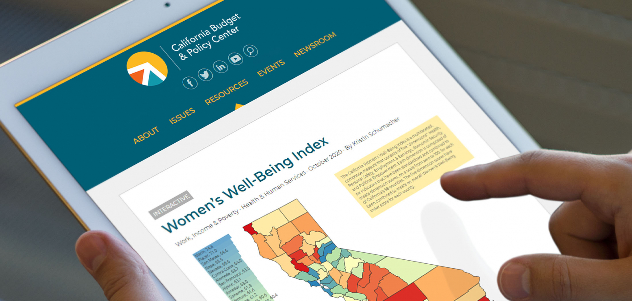 Data Visualization Website Designs