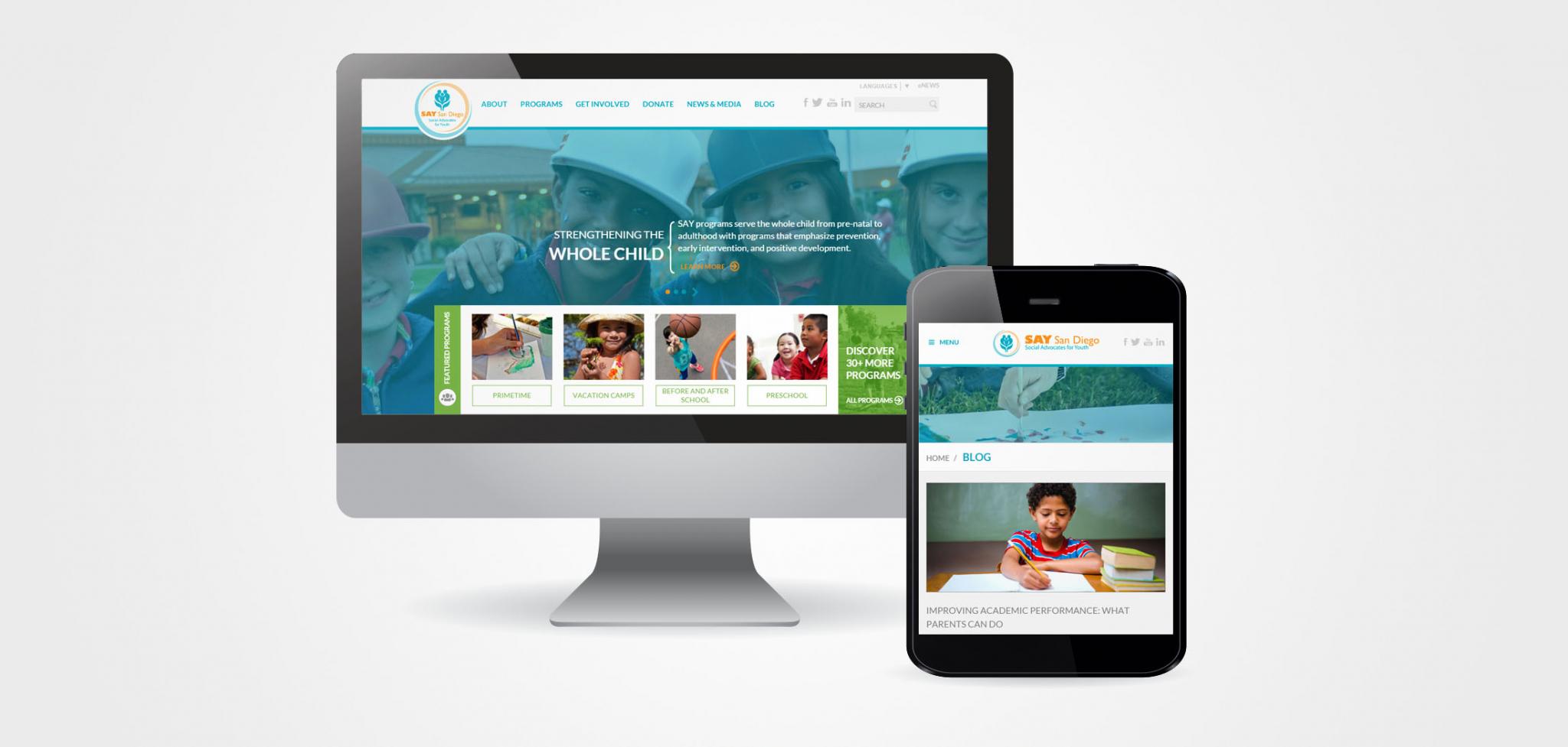 Child Advocacy Website Designs