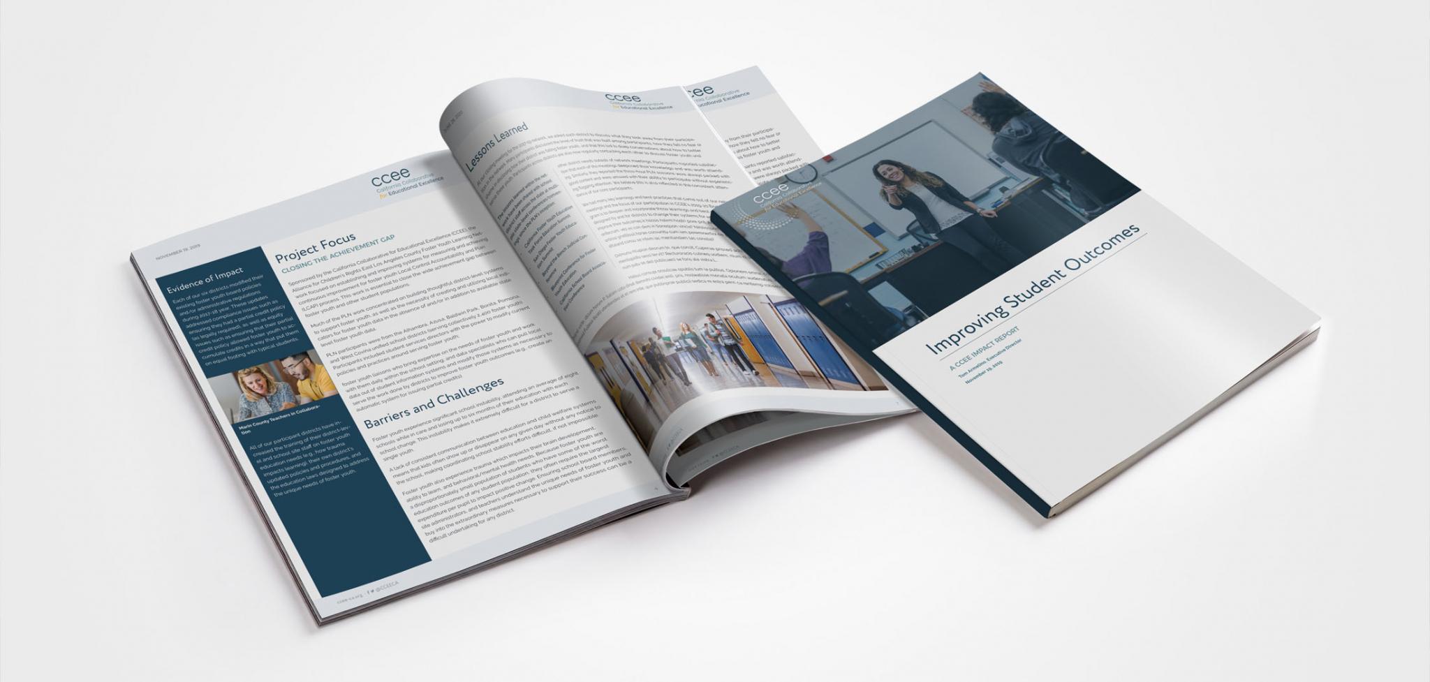 CCEE State Agency Rebranding Print Design