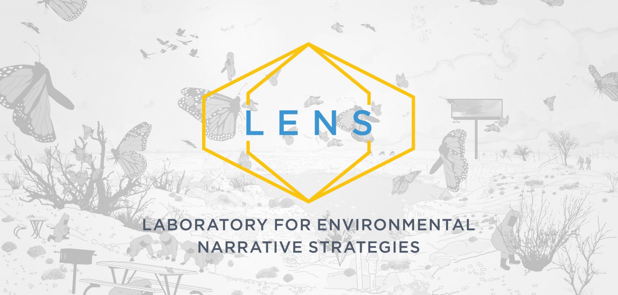 Logo Design for UCLA Lab for Environmental Narrative Strategies