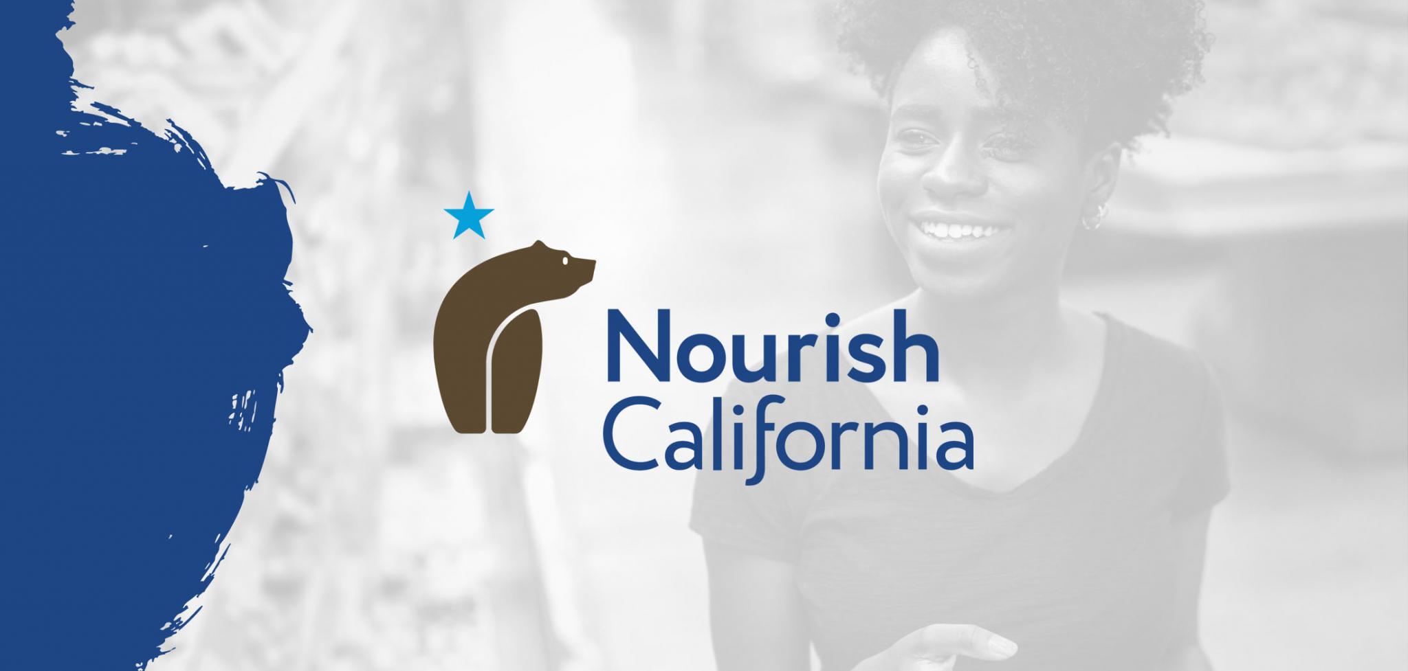 Nourish California Nonprofit Renaming Logo Design