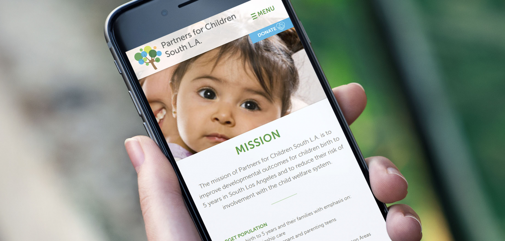 Early Child Development Website Designs for Mobile