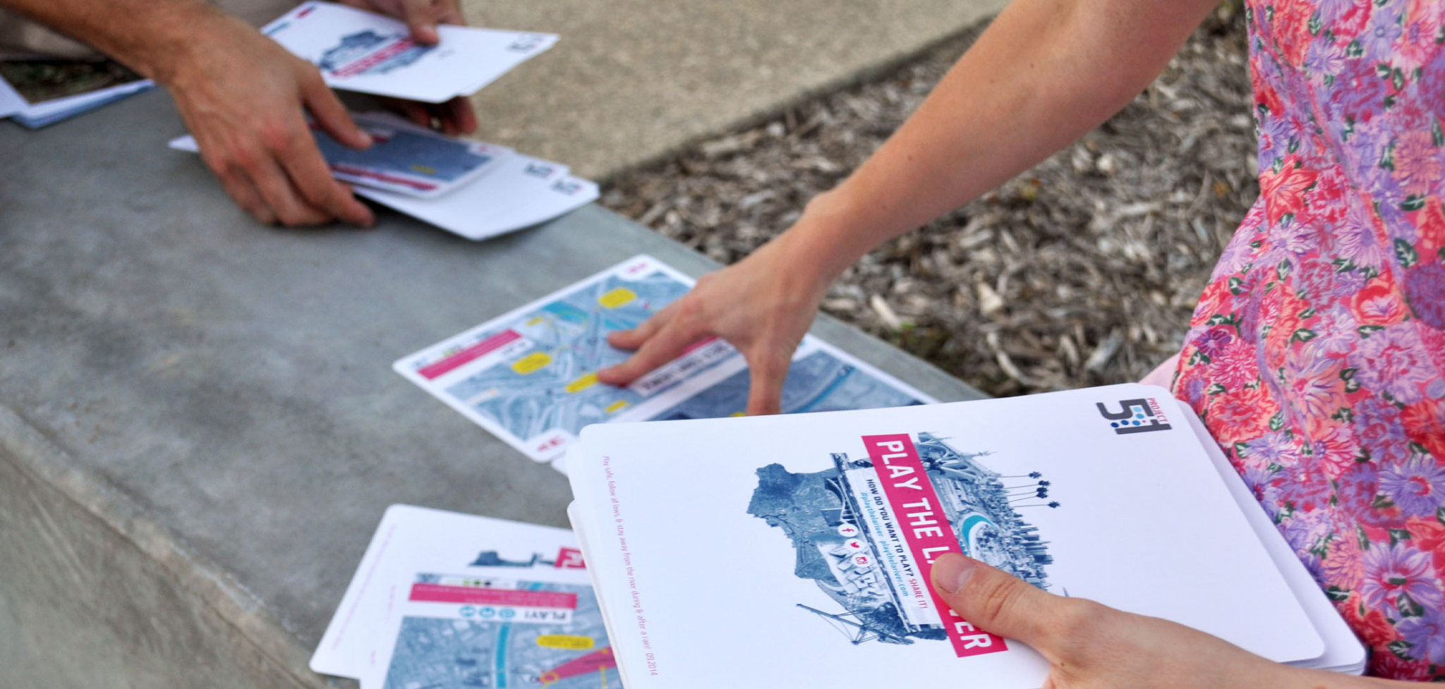 Play the LA River Public Art and Engagement Card Deck