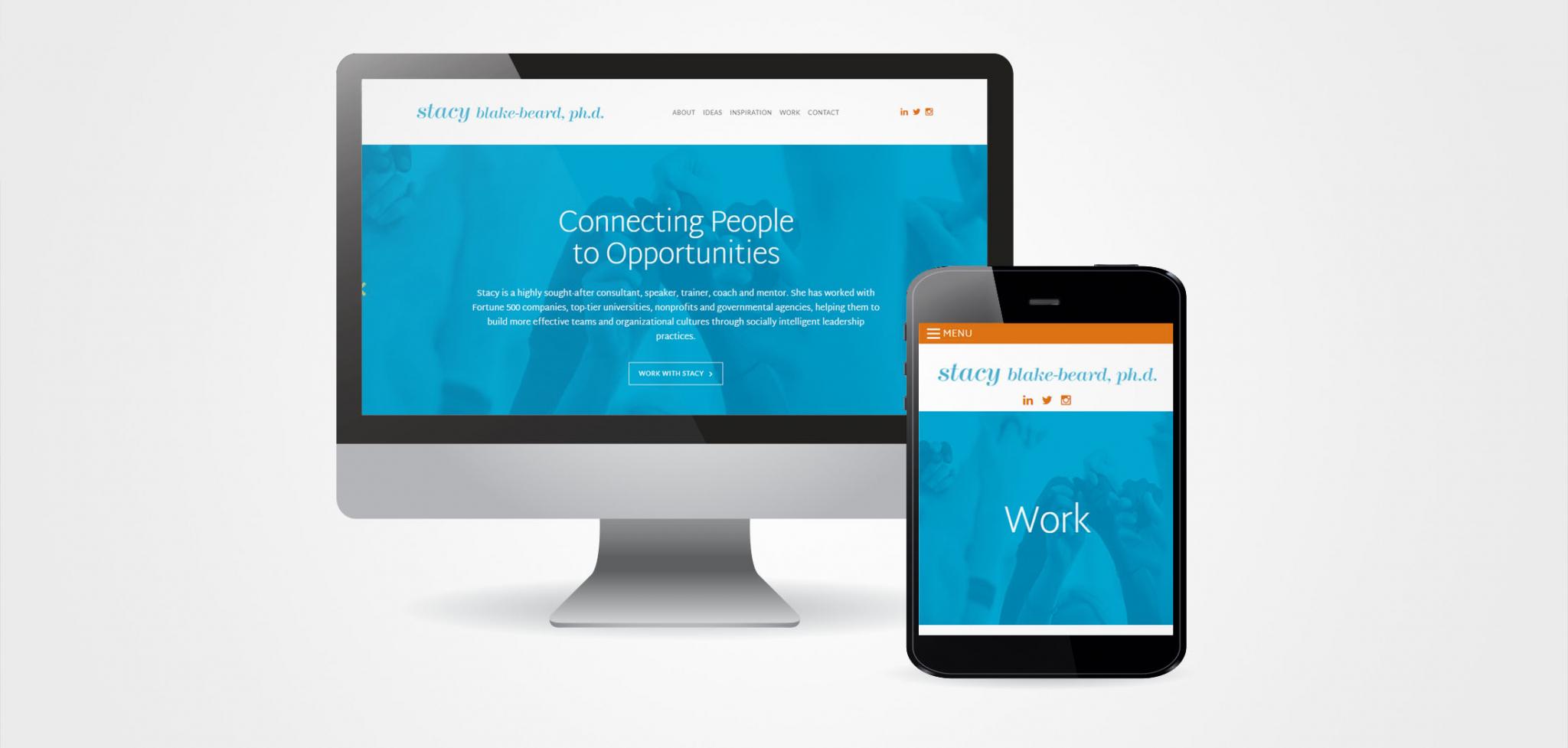 Leadership Consultant Website Designs