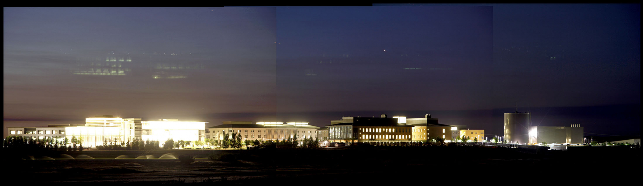 UC Merced University Campus Architectural Photography Overview
