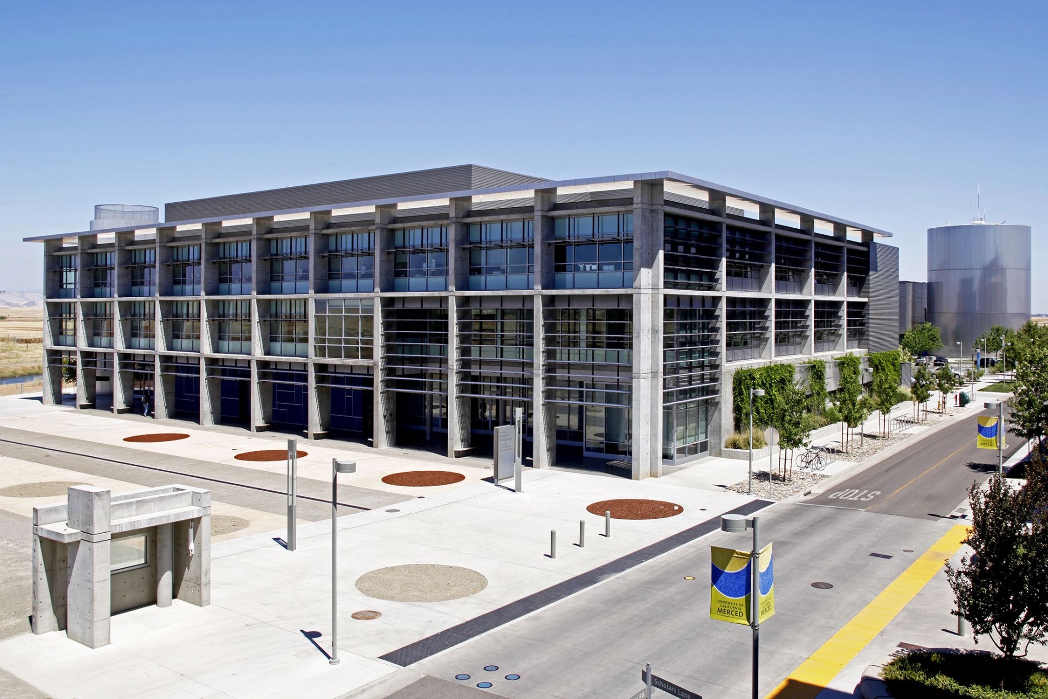 UC Merced Overview University Campus Architectural Photography