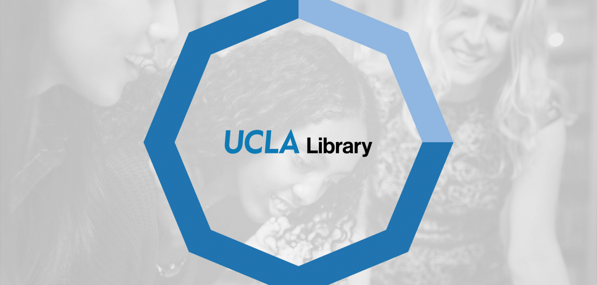 UCLA Library Rebranding Logo Design
