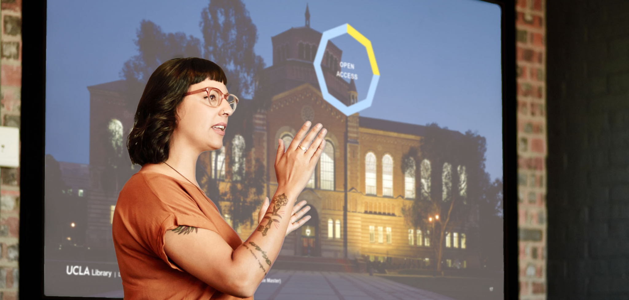 UCLA Library Rebranding PowerPoint Presentation